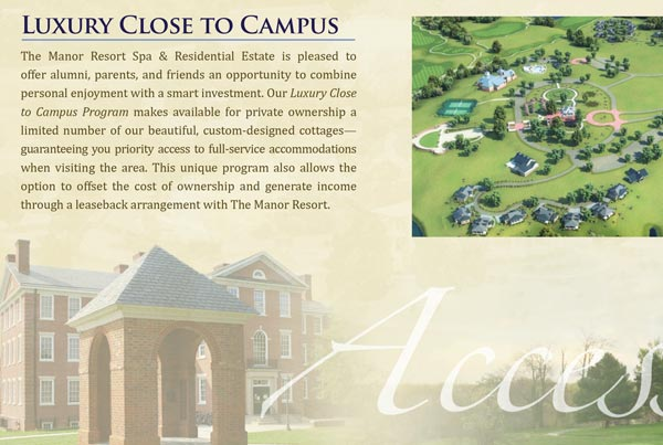Manor Resort Booklet